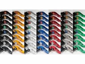 ユーカナヤ FZR1000 レバー スタンダードタイプ ロングアルミビレットレバーセット ゴールド グリーン