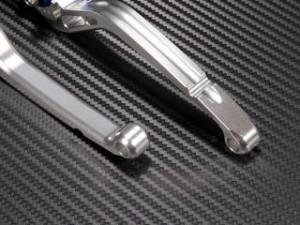 ユーカナヤ W650 レバー スタンダードタイプ ロングアルミビレットレバーセット チタンカラー ブルー