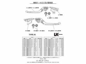 U-KANAYA 可倒式Rタイプアルミビレットレバーセット レバー:ゴールド アジャスター:レッド
