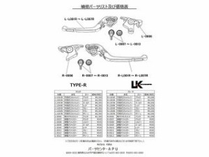 U-KANAYA 可倒式Rタイプアルミビレットレバーセット レバー:グリーン アジャスター:チタンカラー