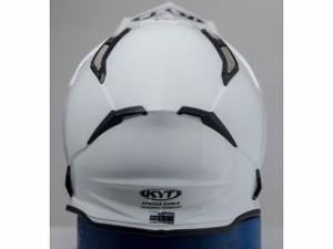 KYT ケーワイティー オフロードヘルメット STRIKE EAGLE ソリッドホワイト M/57-58cm