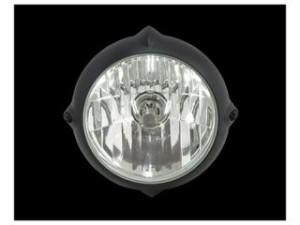ネオファクトリー ハーレー汎用 ヘッドライト・バルブ 5-3/4inビンテージスタイルヘッドライト マットブラック