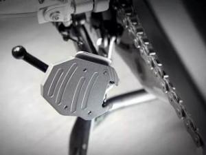 ディーゼル F800GT F800R スタンド関連パーツ サイドスタンドエクステンション