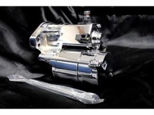 部品屋K&W ハーレー汎用 その他エンジン関連パーツ スターター 1.75kw クローム1