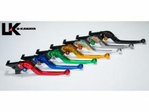 ユーカナヤ R1200GS レバー Rタイプ可倒式 アルミ削り出しビレットレバー ブラック グリーン
