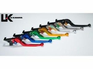ユーカナヤ K1200R レバー Rタイプ可倒式 アルミ削り出しビレットレバー チタン シルバー