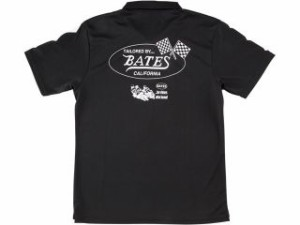ベイツ BATES カジュアルウェア BAT-P08M クールテックポロシャツ ブラック M