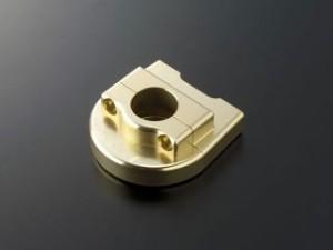 アクティブ 汎用 グリップ関連パーツ 汎用スロットルキット TYPE-1 巻取φ44 Tゴールド メッキ金具/700mm