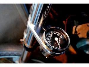部品屋K&W SR400 SR500 ハンドル周辺パーツ メータークランプKIT メータークランプ単品 φ39