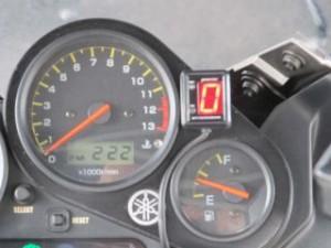 プロテック FZS1000フェザー インジケーター 11373 シフトポジションインジケーターキット