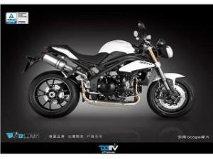 Dimotiv フェアリングガード/セーフ2/SpeedTriple1050 カラー:レッド/ブラック