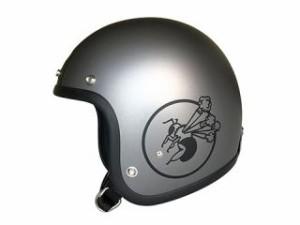 Bumblebee バンブルビー ジェットヘルメット BBHM-01N ヘルメット(ダークマットグレー) ML/58-60cm
