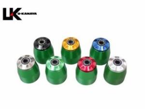 ユーカナヤ NC700S NC700X ハンドル関連パーツ アルミビレットハンドルバーエンド(グリーン) ゴールド