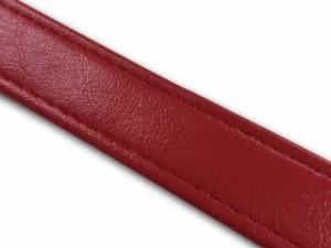 グロンドマン 汎用 シート関連パーツ 汎用レザーベルト/タンデムベルト等 赤 76cm