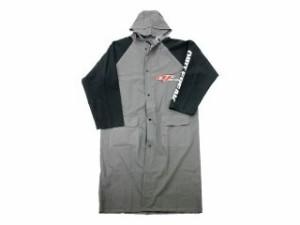 DIRTFREAK ダートフリーク レインウェア レインコート(グレー/ブラック) L/XL(170-190cm)
