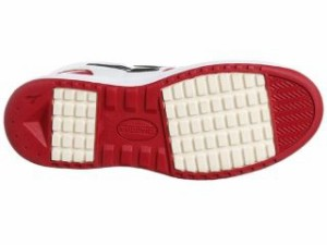 DIADORA ディアドラ メカニックシューズ 安全靴 エミュー レッド/ブラック 24.0cm