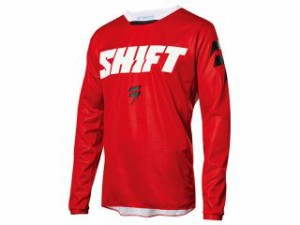 SHIFT シフト モトクロス用品 2018モデル ホワイトレーベル ナインティーセブン ジャージ(レッド) S