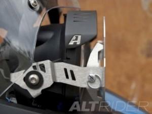 アルトライダー F650GS ヘッドライト・バルブ ヘッドライトガード ストーンガード ステンレス BMW F 650 GS