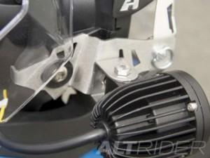 アルトライダー F650GS ヘッドライト・バルブ ヘッドライトガード クリア ポリカーボネート BMW F 650 GS