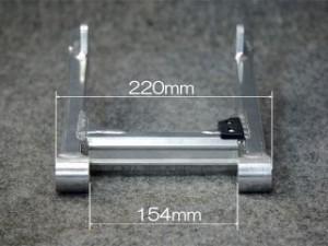 ケップスピード カブ用 アルミスイングアーム +4cm 仕様:アクスルシャフト:L=220mm
