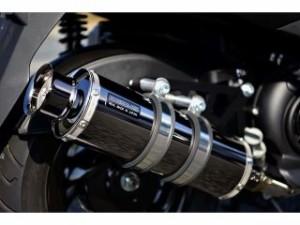 ビームス アクシスZ マフラー本体 SS300 SP(政府認証) フルエキゾーストマフラー SMB(スーパーメタルブラック)