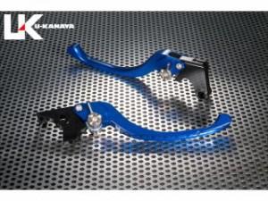 ユーカナヤ YZF-R1 レバー ツーリングタイプ アルミ削り出しビレットレバー(レバーカラー:ブルー) 調整アジャスター:ブ…