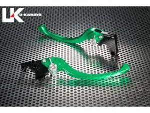 ユーカナヤ TL1000R レバー ツーリングタイプ アルミ削り出しビレットレバー(レバーカラー:グリーン) 調整アジャスター…