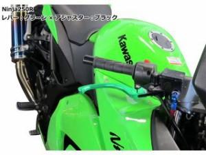 ユーカナヤ CB400フォア レバー ツーリングタイプ アルミ削り出しビレットレバー(レバーカラー:チタン) 調整アジャスター…