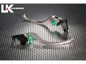 ユーカナヤ VRXロードスター レバー ツーリングタイプ アルミ削り出しビレットレバー(レバーカラー:チタン) 調整アジャスタ…