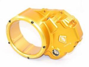 ドゥカバイク DUCABIKE ドレスアップ・カバー クリア クラッチ カバー キット DVTエンジン専用 ゴールド/ゴールド
