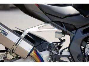 オーバーレーシング CBR250RR マフラーステー・バンド アルミビレット マフラーステー(シルバー)