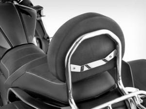 ワンダーリッヒ K1600B タンデム用品 バックレスト ブラック