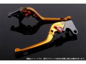 SSK 隼 ハヤブサ レバー 可倒式アジャストレバー 3Dタイプ クラッチ&ブレーキセット(ゴールド) レッド