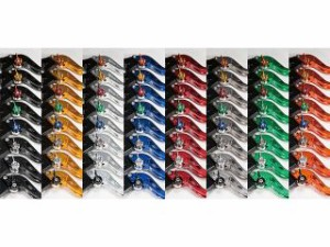 ユーカナヤ Z900 レバー GPタイプ アルミ削り出しビレットレバー(レバーカラー:ブルー) 調整アジャスター:シルバー