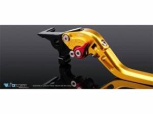 ディモーティブ 1400GTR・コンコース14 ZZR1400 レバー TYPE2 アジャストレバー クラッチレバー ゴールド