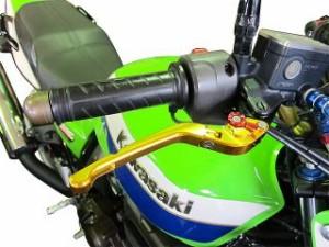 ユーカナヤ CBR929RRファイヤーブレード レバー Rタイプ 可倒式 アルミ削り出しビレットレバー(レバーカラー:グリーン…