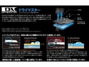 RS TAICHI RSR045 DRYMASTER レインスーツ カラー:レッド サイズ:4XL