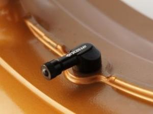 ネックスパフォーマンス 汎用 エアバルブ関連パーツ エアバルブ 純正ホイール用φ11.3mm ブラック