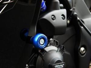 Valter Moto components フレームスライダー/STREET カラー:ブラック