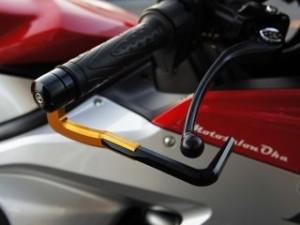 Valter Moto components レバーガード/SAFEROD クラッチ側 カラー:チタニウム