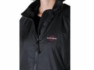 Warm&Safe ウォームアンドセーフ 電熱ウェア・防寒用品 WS-JLW4 女性用ヒーテッド・ジャケット(ブラック) XS