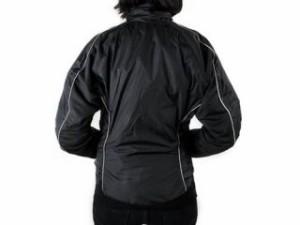 Warm&Safe WS-JLW4 女性用ヒーテッド・ジャケット(ブラック) サイズ:L