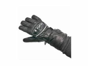 Warm&Safe WS-GLUT 男女兼用カーボンプロテクター・グラブ(ブラック) サイズ:XS