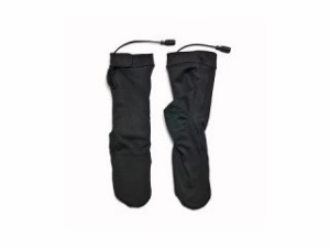 Warm&Safe ウォームアンドセーフ 電熱ウェア・防寒用品 WS-HS4 男女兼用ヒーテッド・ソックス(ブラック) L