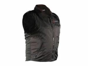 Warm&Safe ウォームアンドセーフ 電熱ウェア・防寒用品 WS-VLM3 男女兼用ヒーテッド・ベスト(ブラック) L