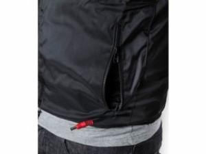 Warm&Safe WS-VLM3 男女兼用ヒーテッド・ベスト(ブラック) サイズ:XL
