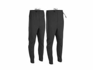 Warm&Safe WS-PLM4 男性用ヒーテッド・パンツ(ブラック) サイズ:S