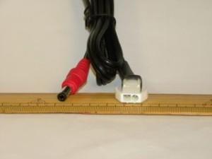 Warm&Safe バッテリー充電変換 コネクター(12cm)