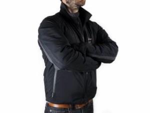 Warm&Safe WS-JLMG 男性用ゼラノッツ・ヒーテッド・ジャケット サイズ:XL