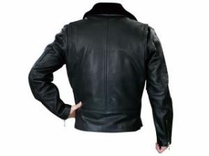 モトフィールド MOTOFIELD ジャケット MF-LJ82 ダブルレザージャケット(ブラック) LL
